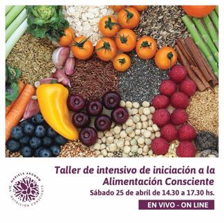 Taller de Iniciación a la Alimentación Consciente.